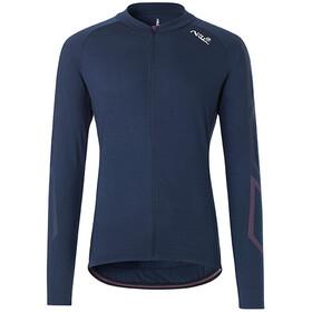Fe226 DryRide Bike Koszulka z długim rękawem Mężczyźni, niebieski